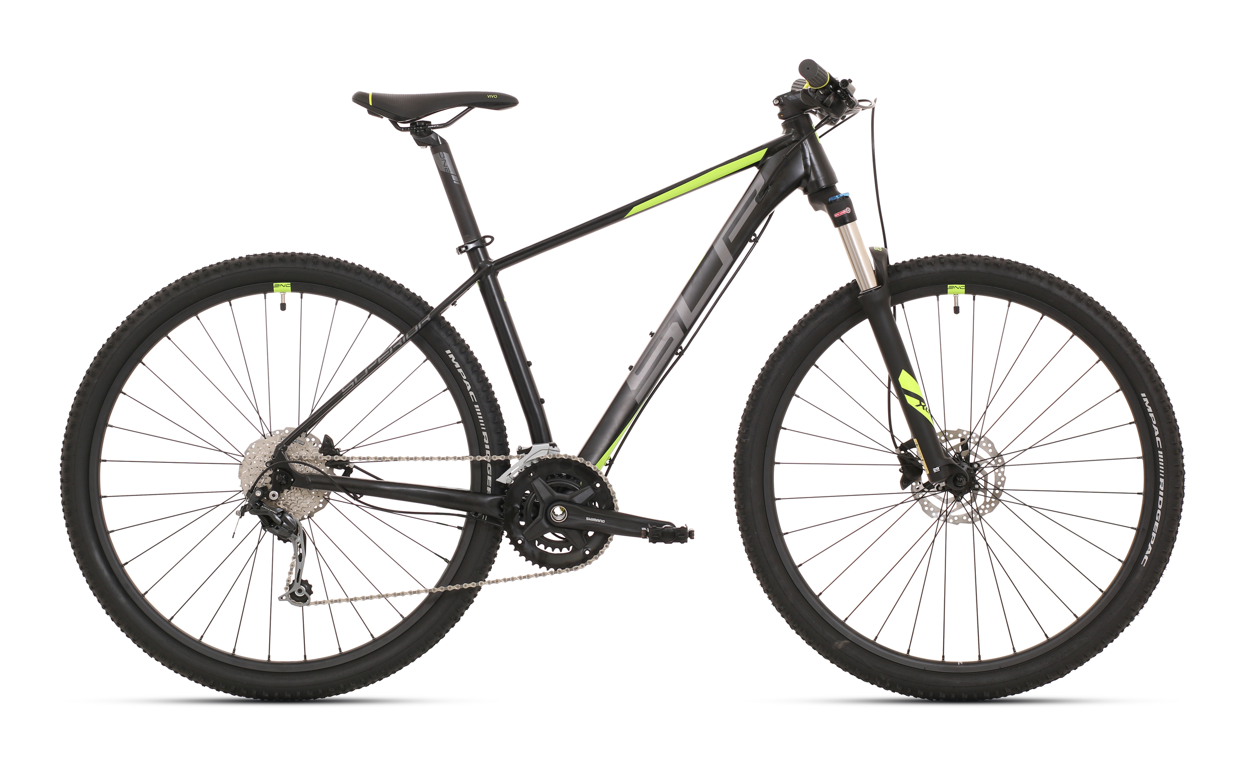 Superior XC 869 Matte Black/Dark Silver/Neon Yellow mod.020