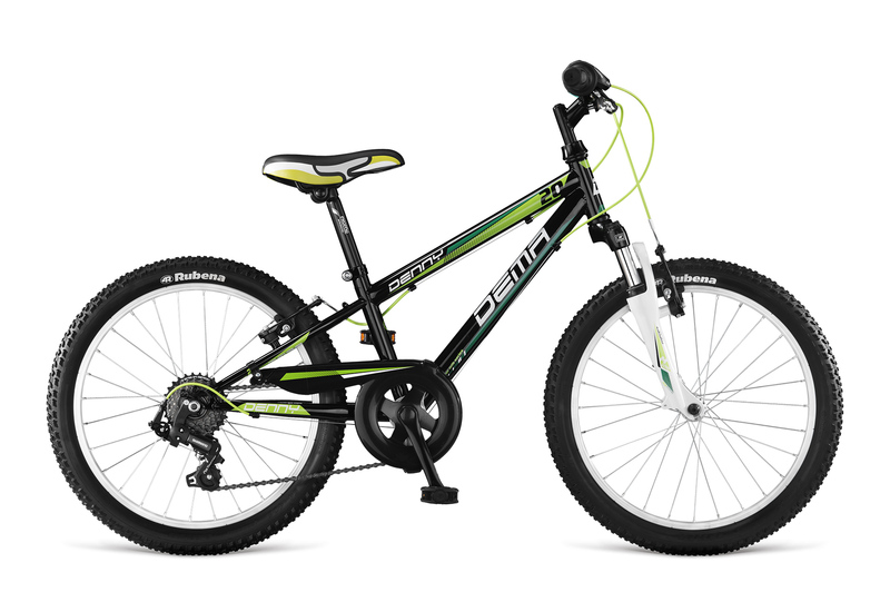 Dema DENNY 7sp SF black-green