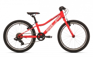 Superior Racer XC 20 Matte Neon Red/White/Dark Red mod.019